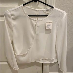 Club Monaco White Blouse brand new